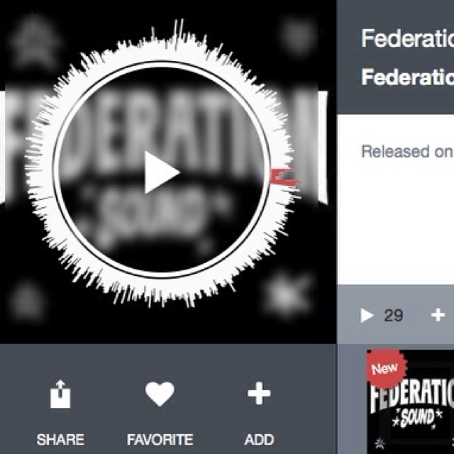 Exclusive mix is up on @thefuturefm. www.thefuture.fm/djs/federationsound.