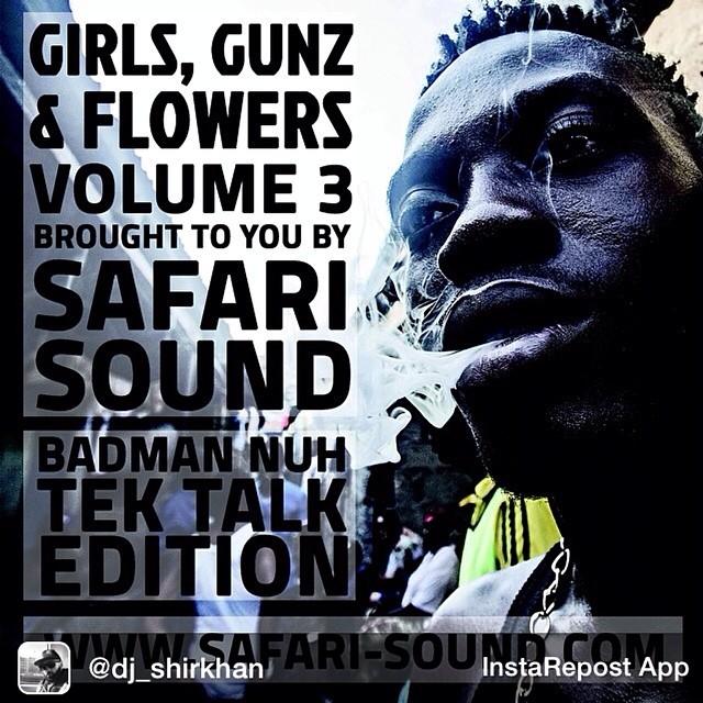 Repost from @dj_shirkhan GIRLS, GUNZ & FLOWERS VOL. 3 -