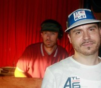 @kennymeez and @maxglazer repping for the FEDERATION15 anniversary in Philly a few weeks back illadelphexperiment