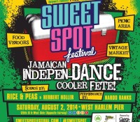Make sure you hit @sweetspotfestival this Saturday, August 2nd in Harlem, with the whole @riceandpeasparty family plus @herbertholler and @originalnardoranks. Dancehall reggae vibes uptown all day.