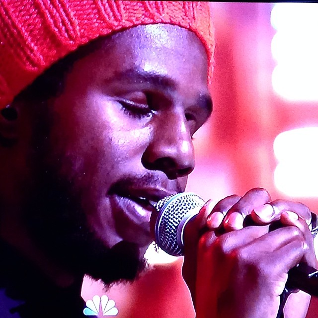 Proud for reggae music right now. @chronixxmusic and Zincfence Redemption live on @fallontonight with @jimmyfallon. herecomestrouble. onelove.