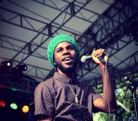 "REPOST FROM @misslilys: ""Smile Jamaica @chronixxmusic RastaYouth SummerStageNYC"""