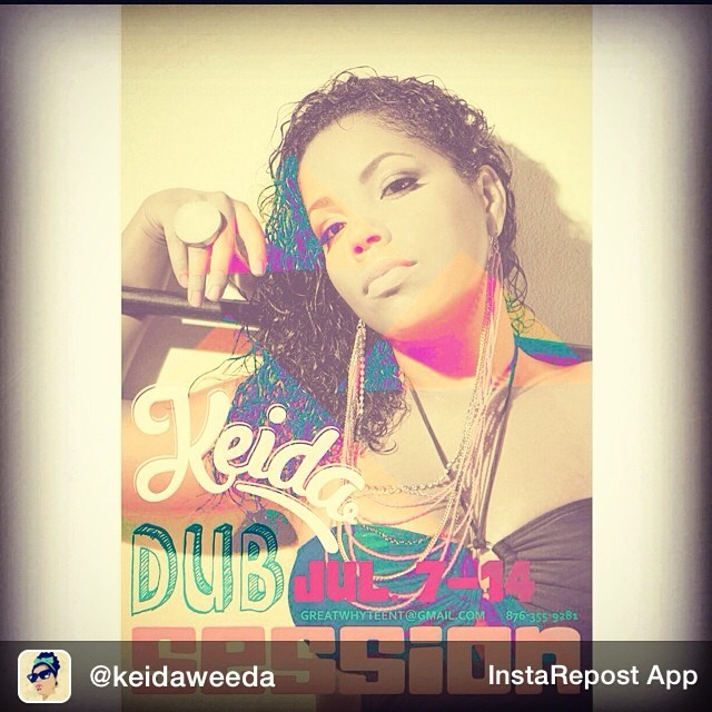 Repost from @keidaweeda JULYDUBSESSION @greatwhytegwe contact: 1876-355-9281 or greatwhyteent@gmail.com