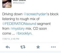 Yes @maxglazer let them know! screechydan mystory hit @largeupdotcom tomorrow for more info @dj_shirkhan @djautograph @kennymeez federation15 @safarisound