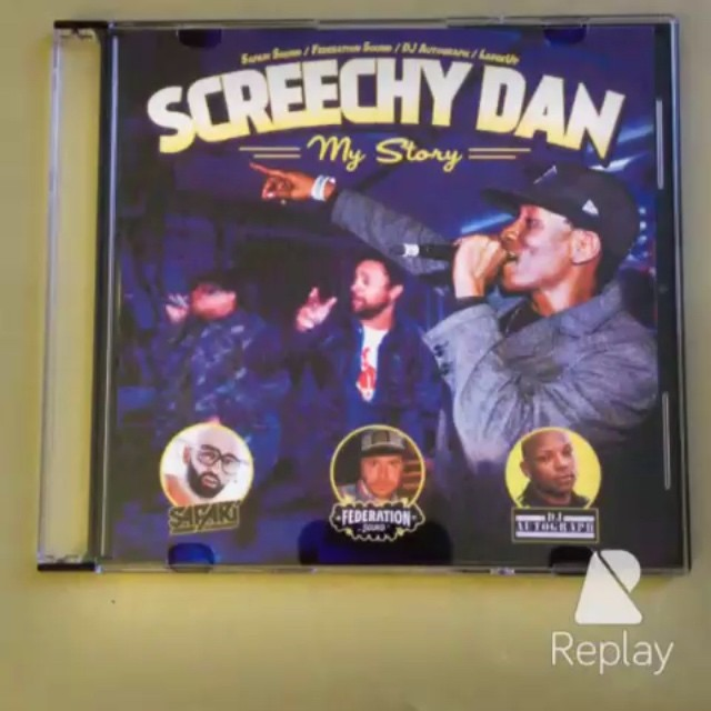 Do remember this Thursday (aug 14th) it's all about federationsound @safarisound @djautograph and @largeupdotcom present @screechydan mystory you can hit up www.largeup.com now and listen to some remixes and sound efx from the project.