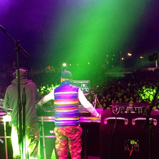 Federation at work. @maxglazer & @kennymeez in Bogota, Colombia - Rock al Parque with @freakycolectivo.