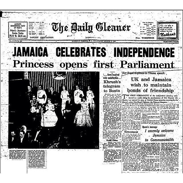 Happy Independence Jamaica.