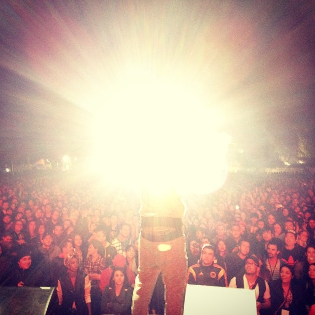 Just exploded the stage with @dagdiggy & @freakycolectivo. Bogota, Colombia. Rock al Parque.