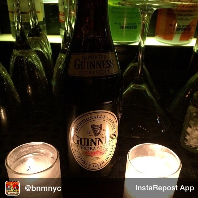 Repost from @bnmnyc Excited to let everyone know 2 things. We now have Guinness extra stout in bottles at bnmnyc at @thedelancey 168 Delancey st. NYC. Number 2 drink specials are 5$ redstripes and 5$ rumdrinks from 10 to 11 and now the late night hours of 2 to 3 so if you miss the early bird we still have you covered!