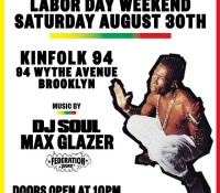 Saturday. @djsoulnyc and @maxglazer at Kinfolk. Williamsburg, Brooklyn.