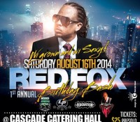 Saturday. @originalredfox birthday bash. Cascade Catering Hall. Brooklyn. It's going to be a busy week…