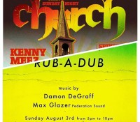 Sunday night it's all about federationsound inna two cities. @kennymeez will be doing his weekly party church @saintlazarusbar Front and Girard in Philadelphia and @maxglazer will be helping our brother from another mother @damondegraff kick off his new weekly rubadub at McCarren Hotel and Pool 160 north 12 st Williamsburg Brooklyn NYC