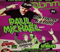We got the vibes… Right now @bnmnyc – 168 Delancey Street. @djpaulmichael birthday bash with @maxglazer @djautograph and @deadlydragon in the basement (Downtown Top Ranking).