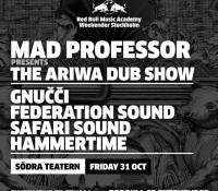 A big thing in Stockholm, Sweden tonight. @rbma weekender with @federationsound and @safarisound plus whole heap more. federation15 federationsound federationinvasion safarisound rbma weekendersthlm