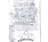 Original cover sketch for Federation 5 – Surround Sound mix cd. tbt. throwbackthursday. federation15.