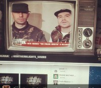 """Repost from @northernlights_sound @maxglazer & @kennymeez from """"federation-FEDERATION-federation"""" sound endorsing thelightswehashinebright 15th anniversary Watch the video @ Http://youtu.be/H5FrRpqsJ90 reggae dancehall party MADNESS celebrationtime udine soundsystemculture"""