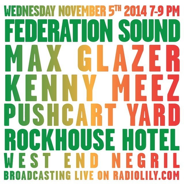 We are broadcasting live on www.radiolily.com 7-9 from the Pushcart Yard @rockhousehotel in Negril, Jamaica. From the West End to the world... Tune in! federation15. federationsound. federationinvasion. federation. rockhouse. negril. jamaica.