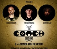 Auckland, New Zealand. Conch Sessions. Q+A with @chronixxmusic @maxglazer @houseshoes. @conchrecords. @grindinoz.