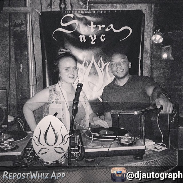 By @djautograph Pictured above are your musical captains for tonight. Join me & @djpetra @louieandchan (303 Broome Street) 10pm onwards. It's gonna be a party y'all!
