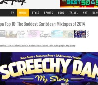 By @kennymeez Thank you to @largeupdotcom for featuring @screechydan mix mystory as number 4 in there top ten mixes from 2014 @federationsound @safarisound @djautograph @shirkhansafarisound