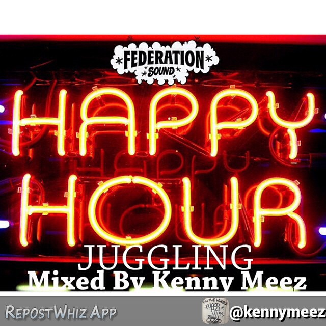 By @kennymeez Trying to get this posted before I head to @thedelancey for @bnmnyc tonight. Let me say this. The juggling is almost 2 hours and has 130 tracks! Check the soundcloud.com/federationsound in a few! track list will be posted also