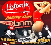 It's about that time. @bnmnyc tonight celebrating @listoniamusic's birthday with special guest @djpaulmichael alongside @djautograph @kennymeez and @maxglazer. Free all night. Early drink specials. Late night food menu. 168 Delancey Street. Vibes up every Thursday.