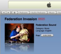 Federation Invasion, Meet iTunes