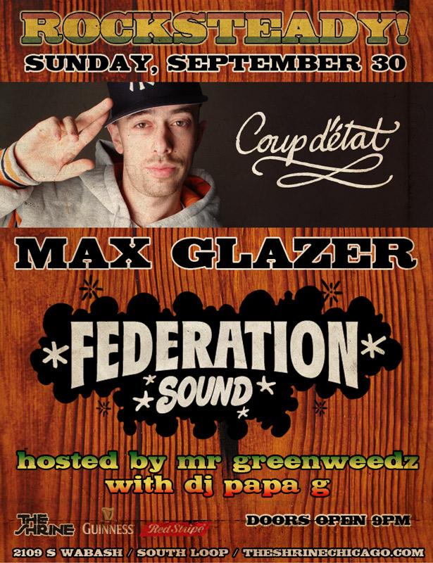 MAX GLAZER ROCKSTEADY