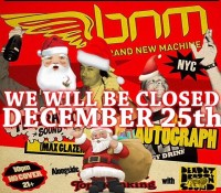 Merry Christmas! NO @bnmnyc tonight. We will be open next Thursday, January 1st. See you soon.