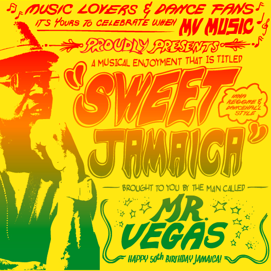 Mr Vegas Sweet Jamaica album cover
