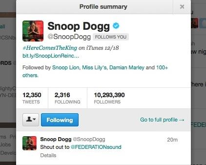 SnoopTweet