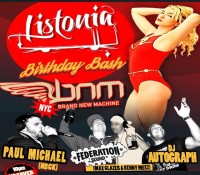 Thursday. @bnmnyc. @listoniamusic birthday bash. Special guest @djpaulmichael. @thedelancey. 168 Delancey Street. 10 pm. No cover. Early drink specials and bar menu available until 3 am.