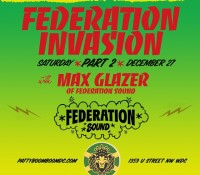 Tonight it's all about the federationinvasion part 2 with @maxglazer working out on the 1's and 2's inside @pattyboomboomdc 1359 U ST Washington, D.C.