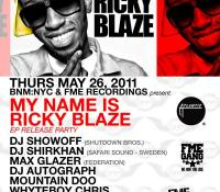 Ricky Blaze EP Release Party (NYC)