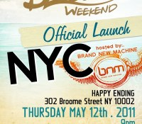 BNM (NYC) Dream Weekend Launch