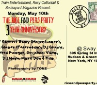 Rice And Peas 3 Year Anniversary