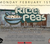 February Rice And Peas