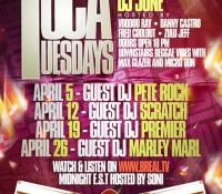 Toca Tuesdays (April)